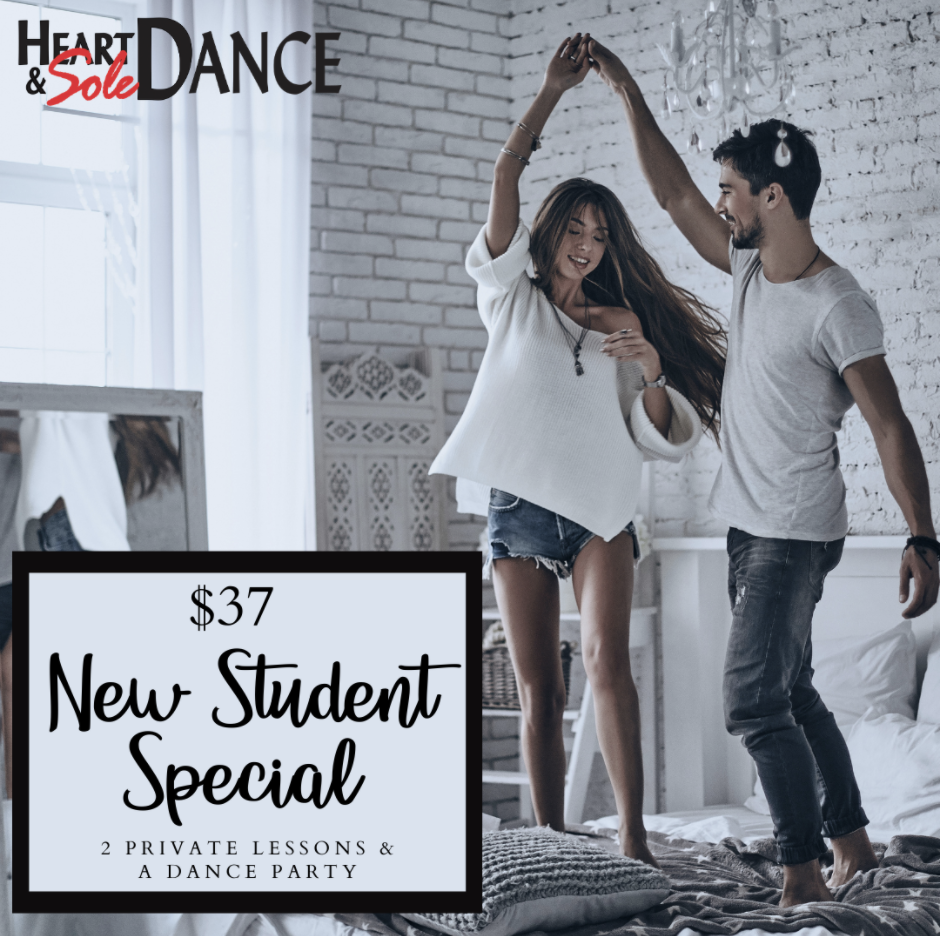 Studios have an offer- use it to find a good dance teacher.