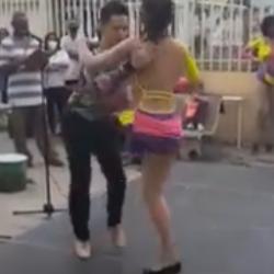 Amazing Salsa Dancer with One Leg